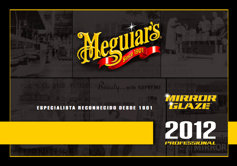 Catálogo Meguiars - 2012 - Profissional